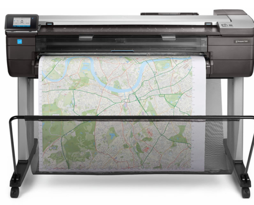 HP Designjet T830 front