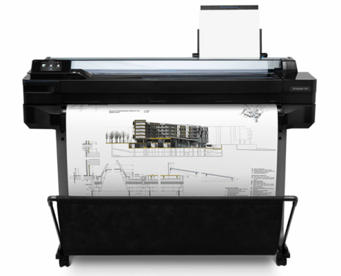 HP Designjet T520 front