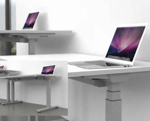 Fraction Plus Sit - Stand Desk