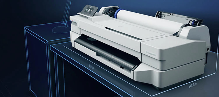 HP DesignJet T100 - perfect for budget and small office